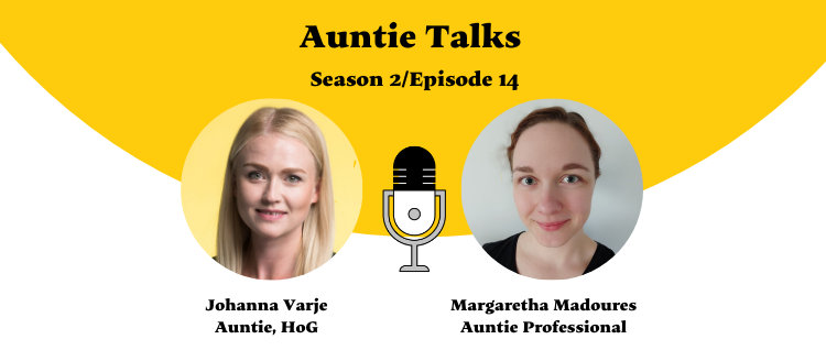 Auntie Talks Podcast - Margaretha Madoures - how to work with difficult colleagues 750